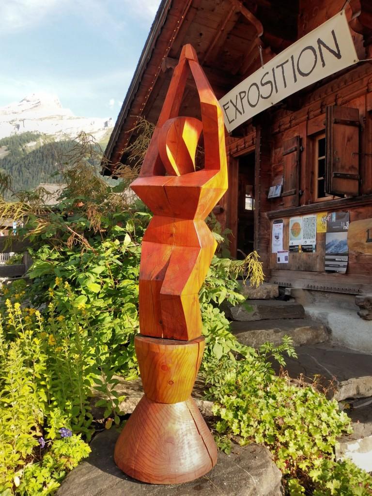 Séduction, une sculpture d'Alain Favrod