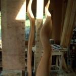 Naissance d'une sculpture, atelier d'Alain favrod