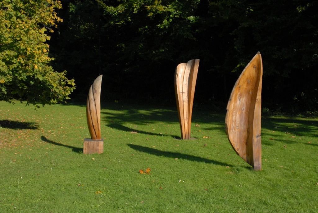 Les Plumes d'Anges, une sculpture d'Alain Favrod